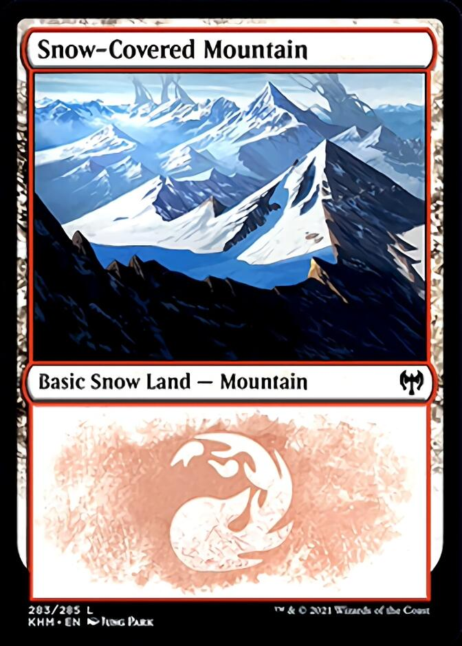 Snow-Covered Mountain <283> [KHM]