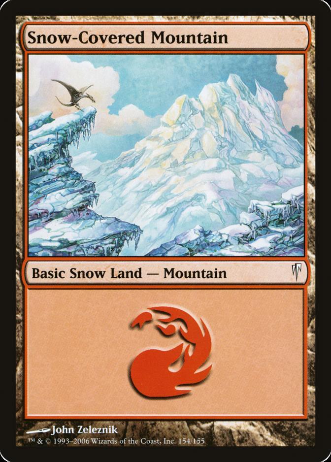 Snow-Covered Mountain [CSP]