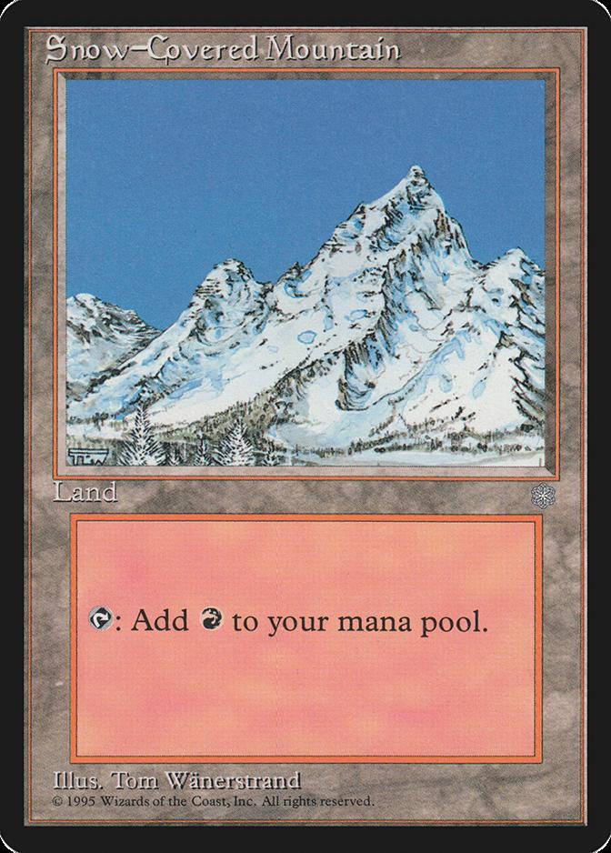Snow-Covered Mountain [ICE]