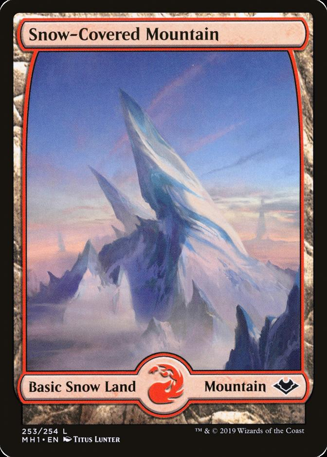 Snow-Covered Mountain [MH1] (F)