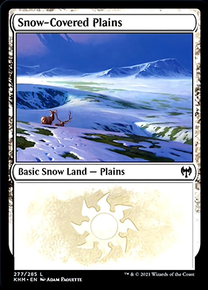 Snow-Covered Plains <277> [KHM]