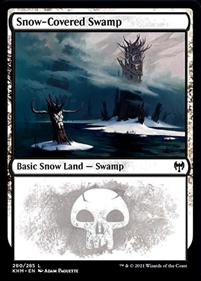 Snow-Covered Swamp <280> [KHM]