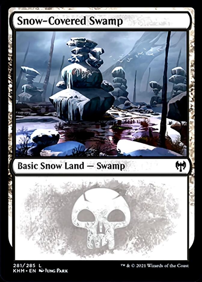 Snow-Covered Swamp <281> [KHM]