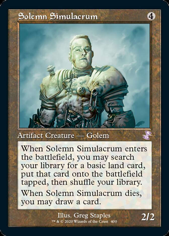 Solemn Simulacrum <timeshifted> [TSR]
