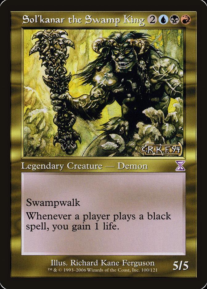 Sol'kanar the Swamp King [TSB] (F)