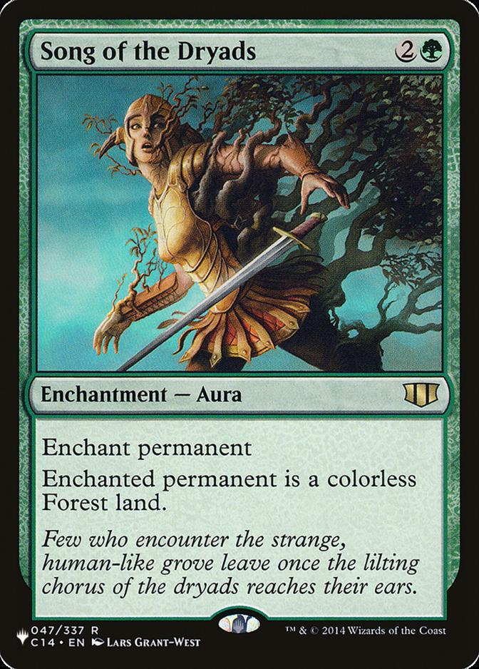 Song of the Dryads [PLIST]