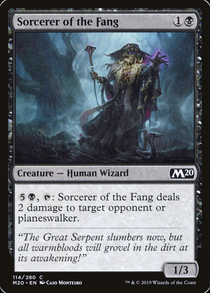 Sorcerer of the Fang [M20]