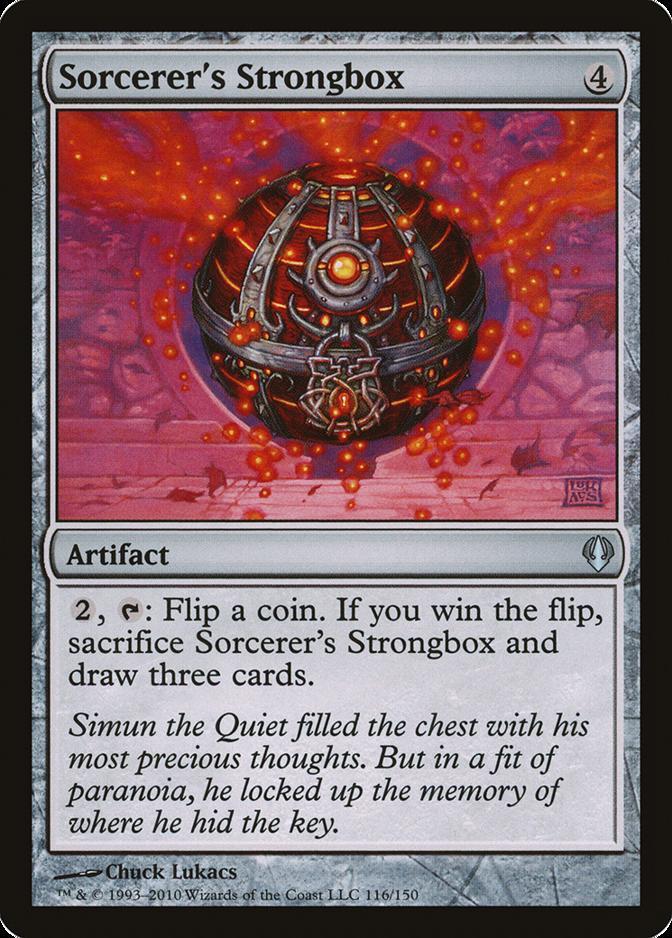 Sorcerer's Strongbox [ARC]