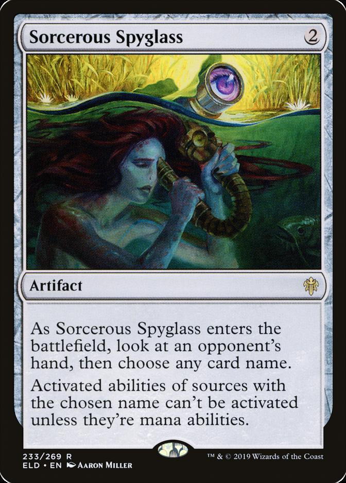 Sorcerous Spyglass [ELD]