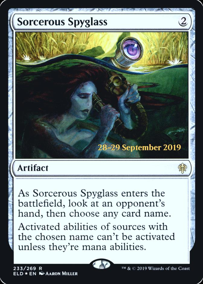 Sorcerous Spyglass [PRM-PRE] (F)