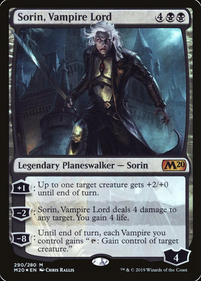 Sorin, Vampire Lord [M20]