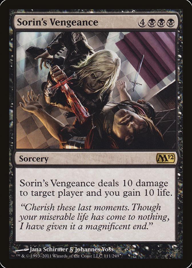 Sorin's Vengeance [M12]