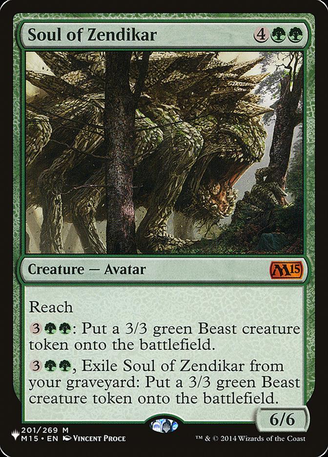 Soul of Zendikar [PLIST]