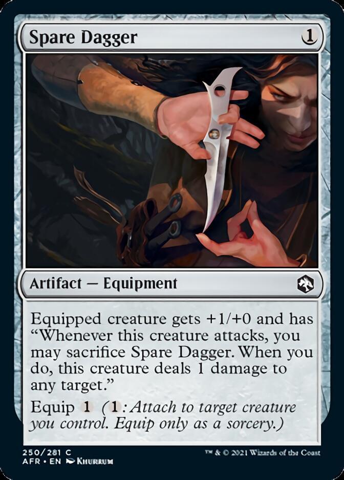 Spare Dagger [AFR]
