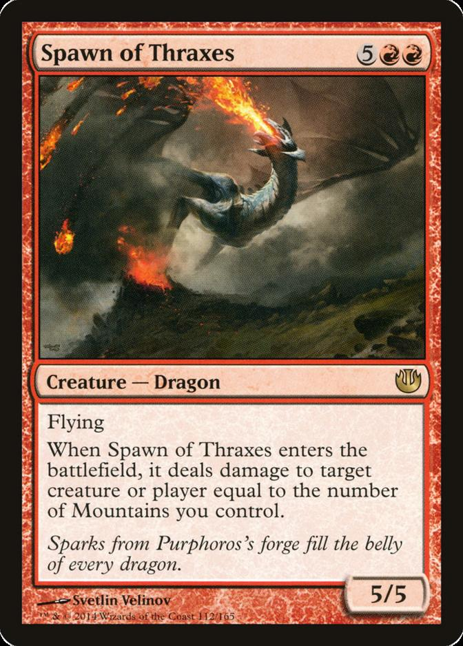 Spawn of Thraxes [JOU]