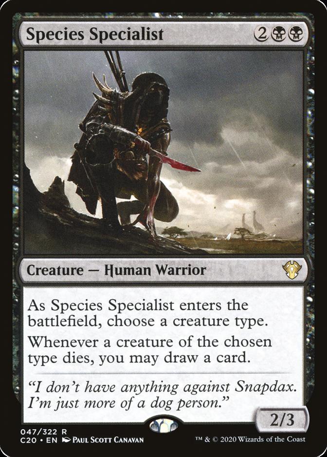 Species Specialist [C20]