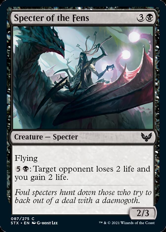 Specter of the Fens [STX]