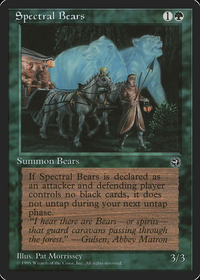 Spectral Bears [HML]