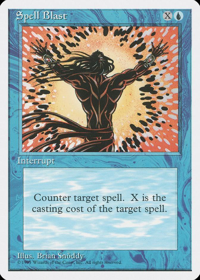 Spell Blast [4ED]