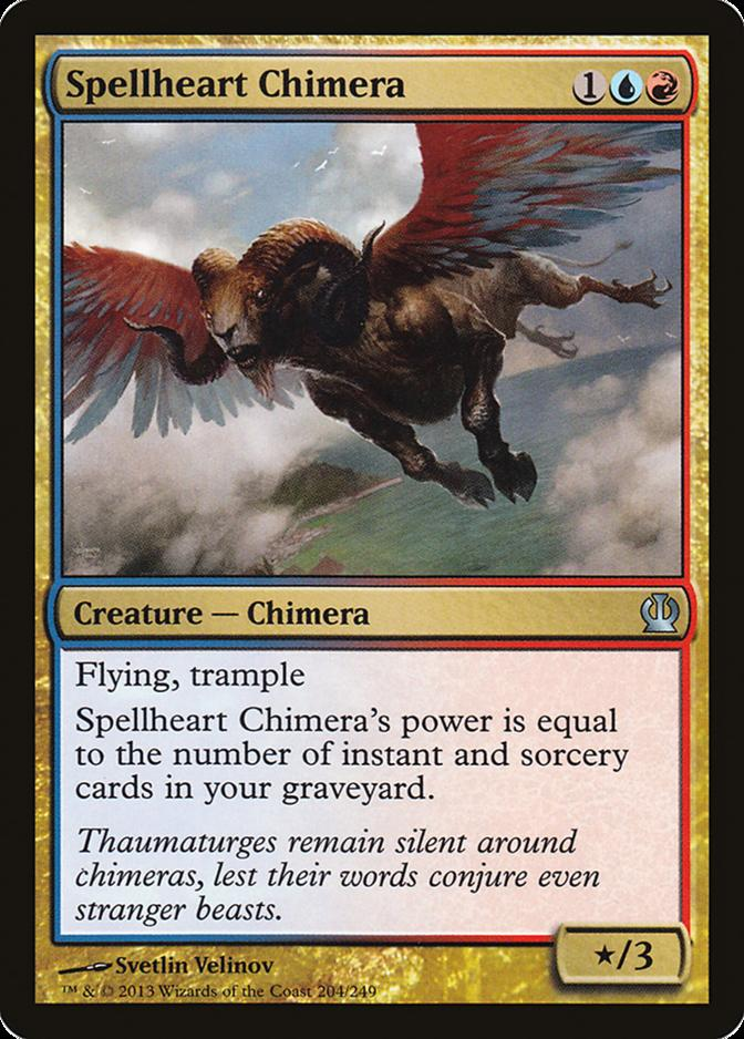 Spellheart Chimera [THS]