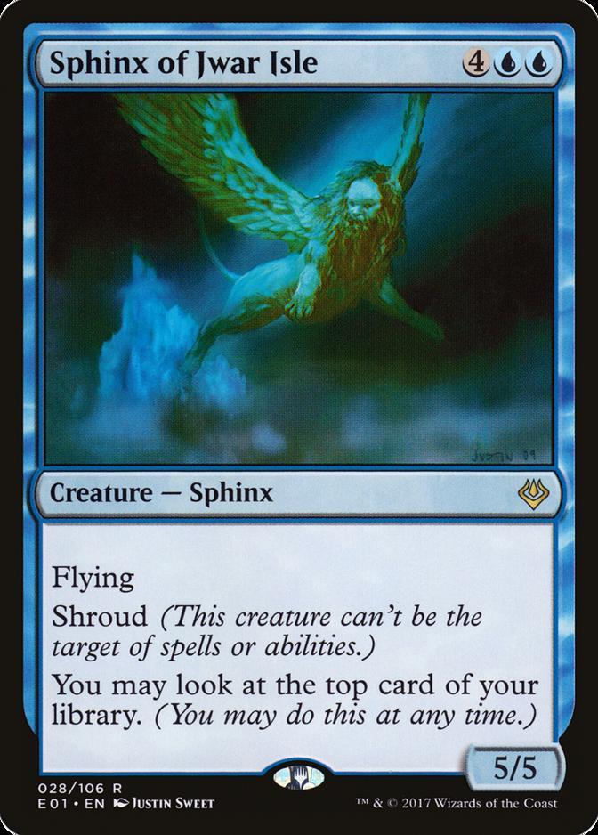 Sphinx of Jwar Isle [E01]