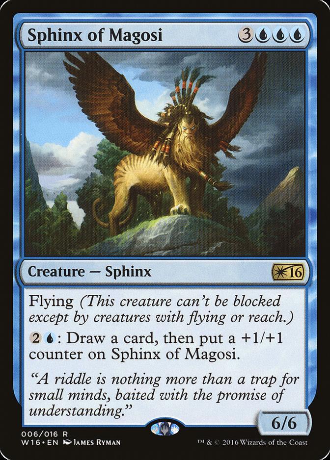 Sphinx of Magosi [W16]