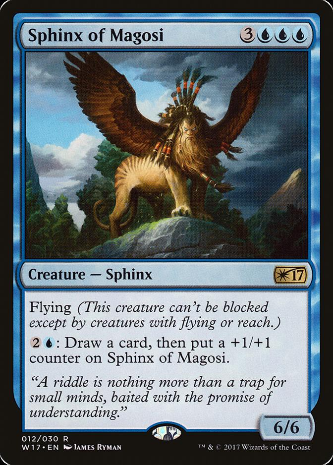 Sphinx of Magosi [W17]