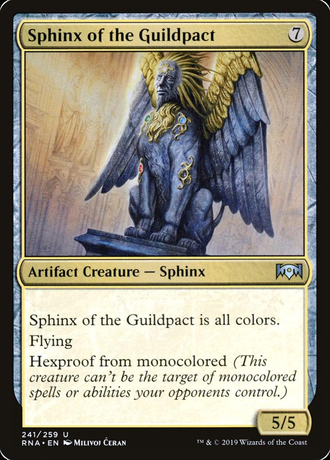 Sphinx of the Guildpact [RNA] (F)
