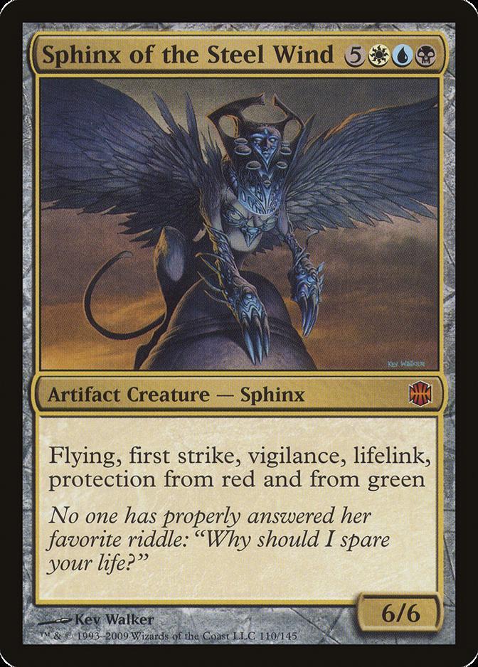 Sphinx of the Steel Wind [ARB]