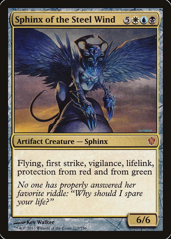 Sphinx of the Steel Wind [C13]