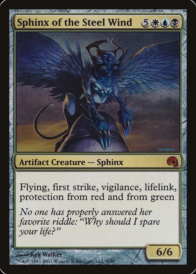 Sphinx of the Steel Wind [PD3]