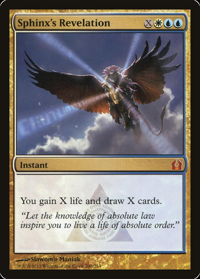 Sphinx's Revelation [RTR]