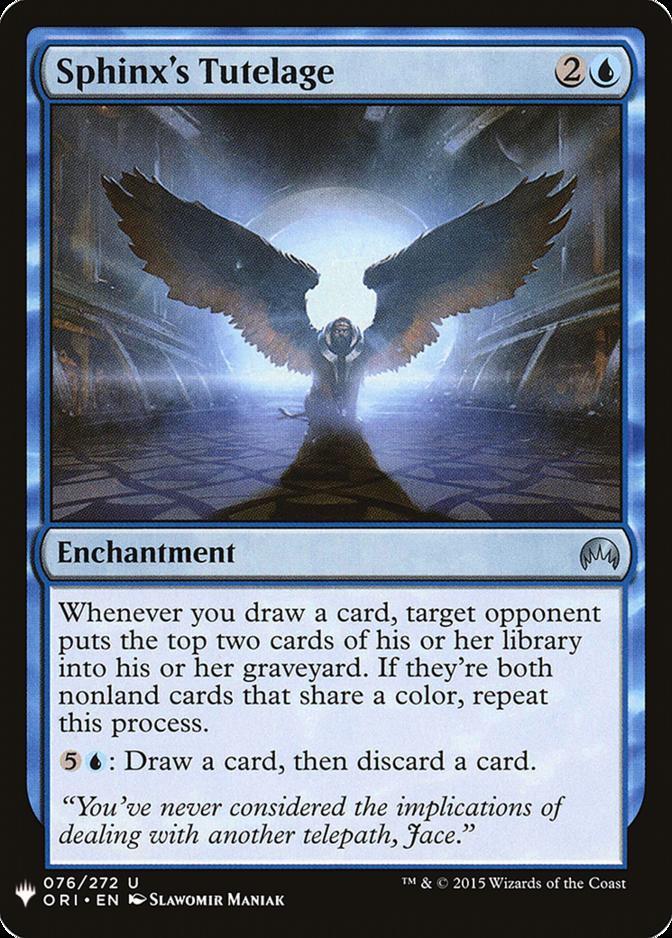 Sphinx's Tutelage [MB1]