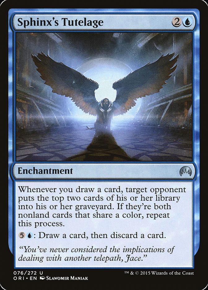 Sphinx's Tutelage [ORI]