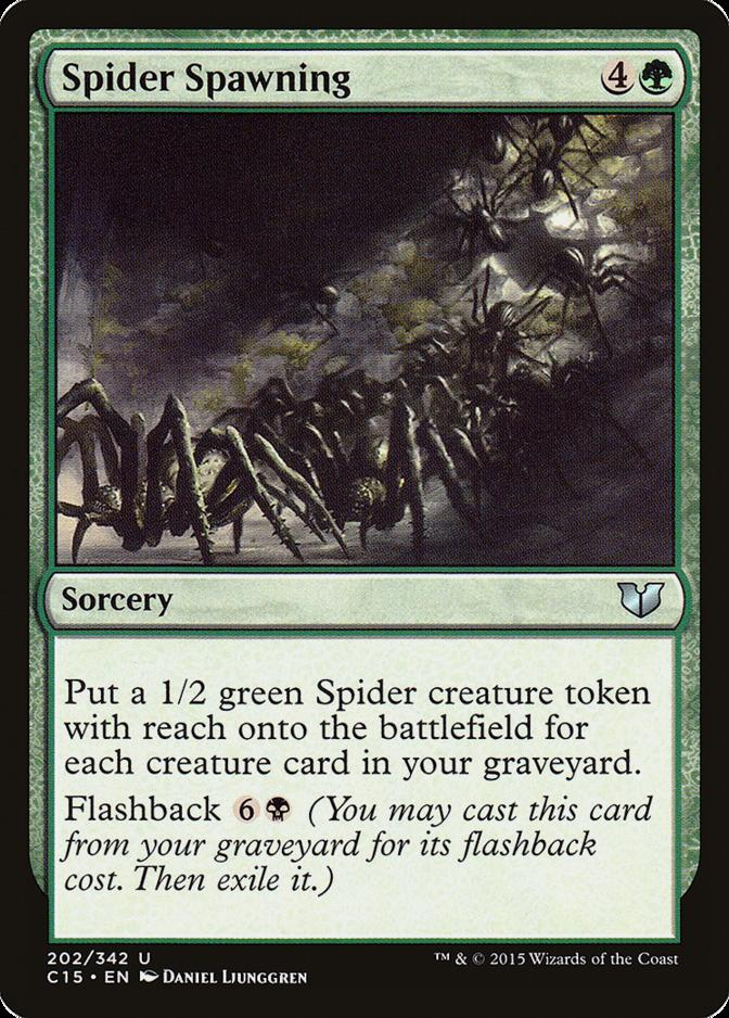 Spider Spawning [C15]