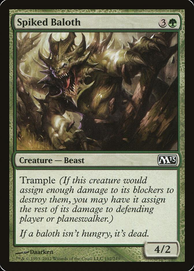 Spiked Baloth [M13]