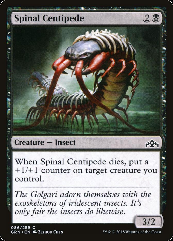 Spinal Centipede [GRN]
