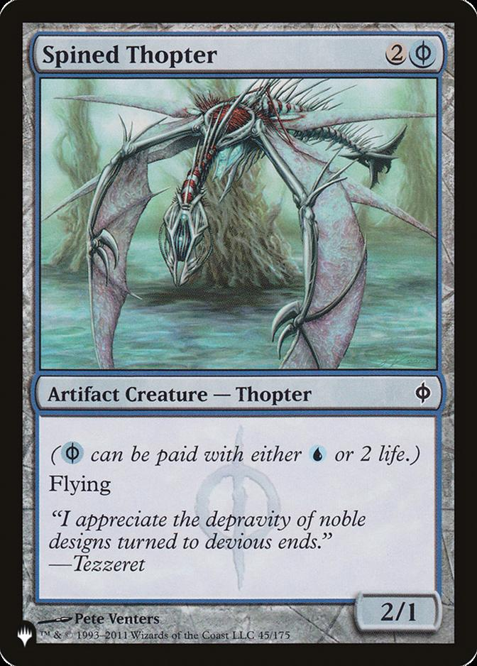Spined Thopter [PLIST]
