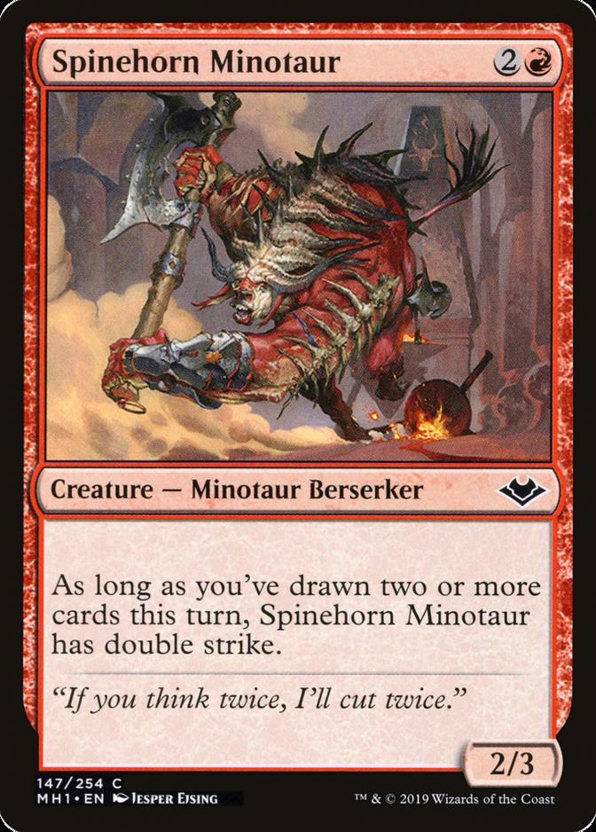 Spinehorn Minotaur [MH1]
