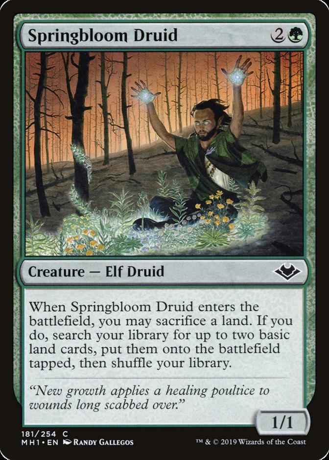 Springbloom Druid [MH1]