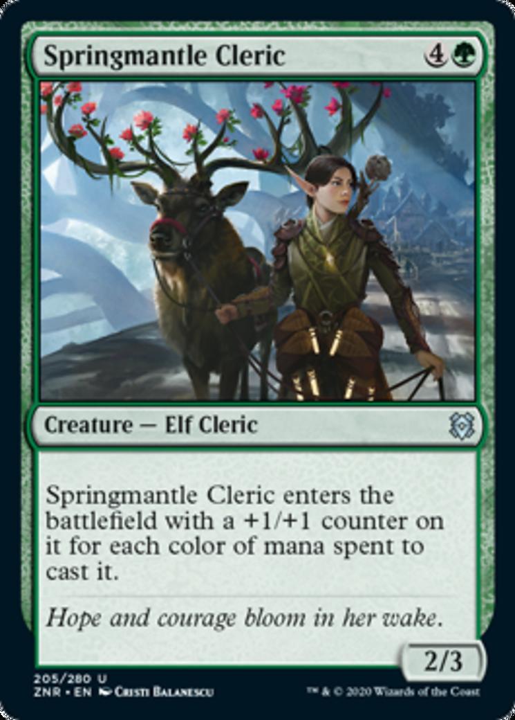 Springmantle Cleric [ZNR]
