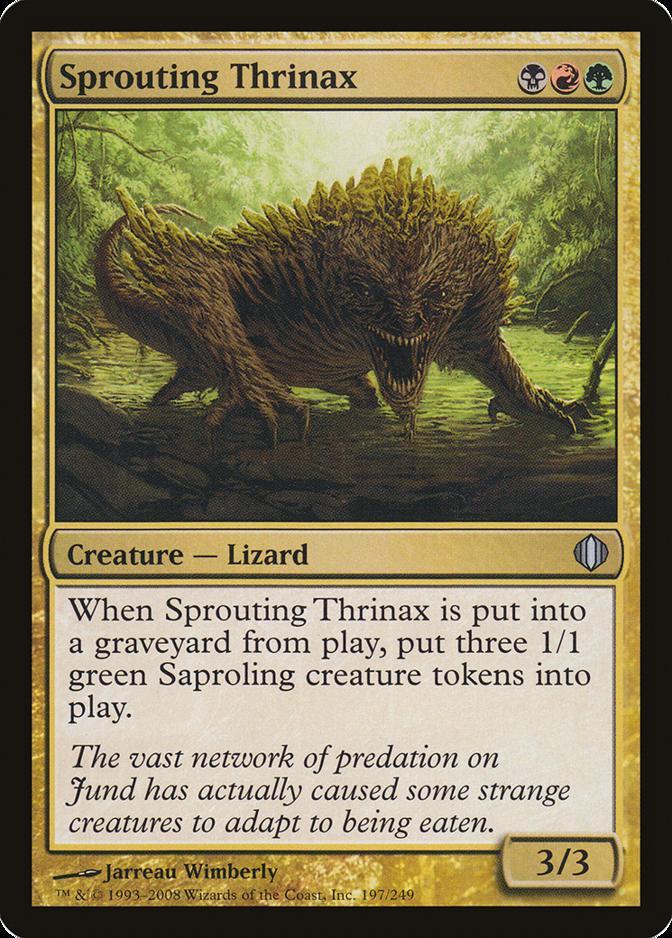 Sprouting Thrinax [ALA] (F)
