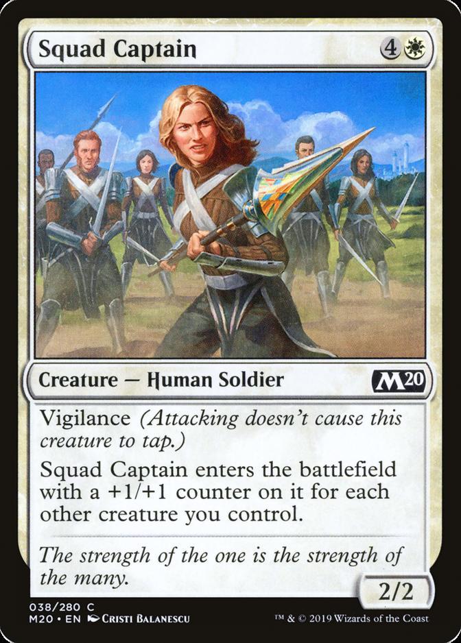 Squad Captain [M20]