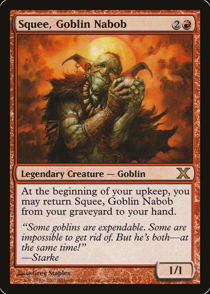 Squee, Goblin Nabob [10E]