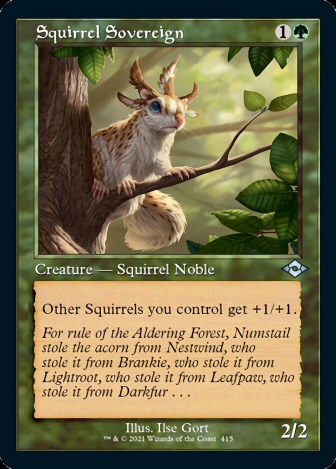 Squirrel Sovereign <retro> [MH2]