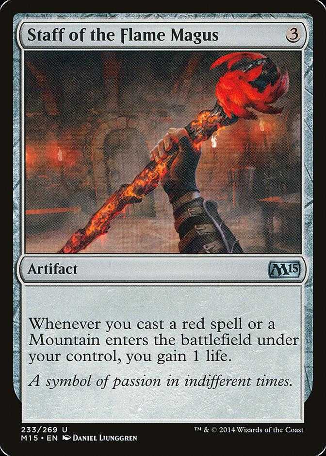 Staff of the Flame Magus [M15] (F)