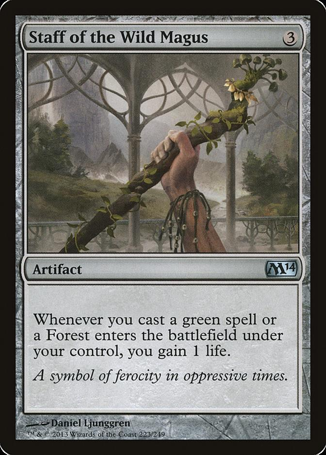 Staff of the Wild Magus [M14]