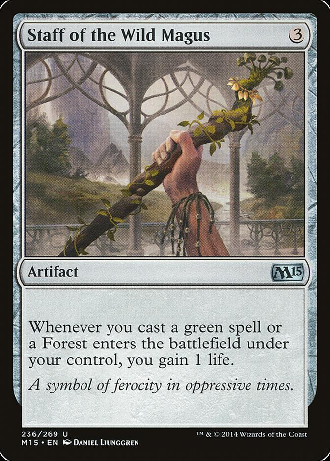Staff of the Wild Magus [M15]