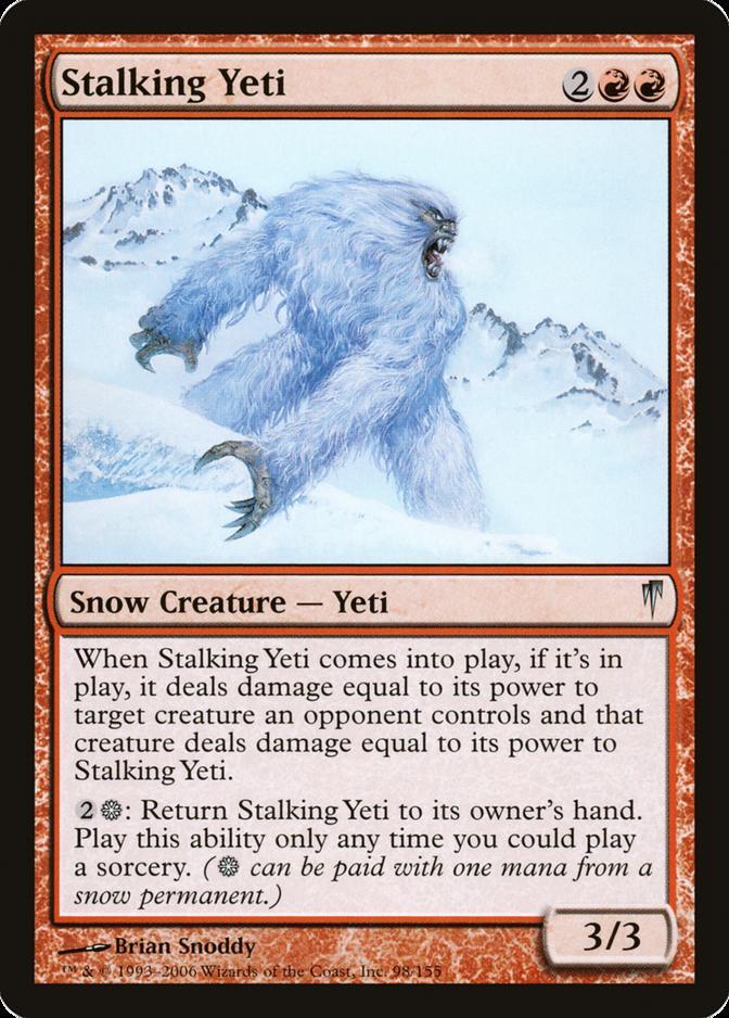Stalking Yeti [CSP]