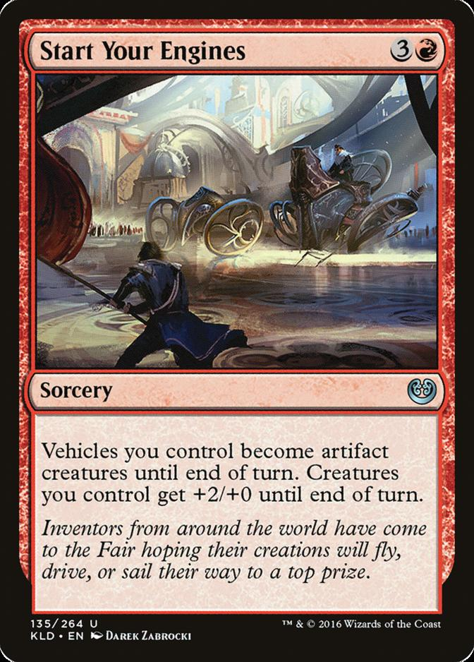 Start Your Engines [KLD]